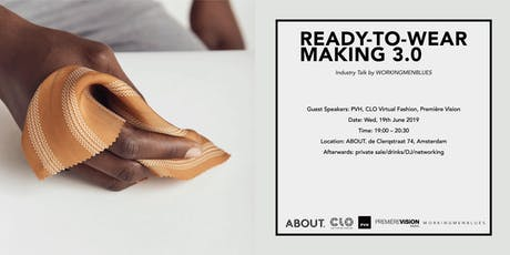 Ready-To-Wear Making 3.0 tickets