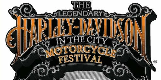 Harley Davidson In The City Festival, Brechin - CAMPING