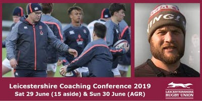 Leicestershire Rugby Union Coaches Conference 2019