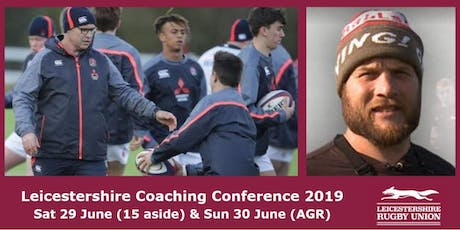 Leicestershire Rugby Union Coaches Conference 2019 tickets