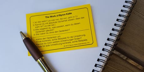 Ganz einfach, The Work - The Work of Byron Katie Tickets