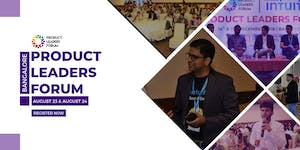 Product Leaders Forum Bangalore