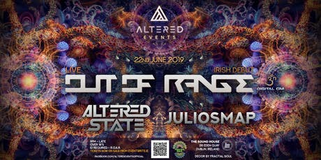 Altered Events Pres: Out Of Range tickets
