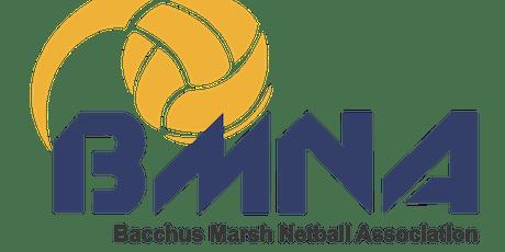 Junior Presentation Party- Bacchus Marsh Netball Association tickets