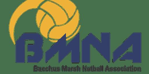 Junior Presentation Party- Bacchus Marsh Netball Association