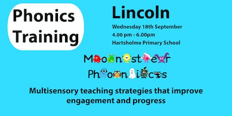 Lincoln Phonics Training tickets
