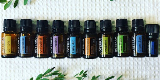 Introduction to doTERRA essential oils, September
