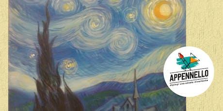 Stelle e Van Gogh: aperitivo Appennello a Senigallia (AN) biglietti