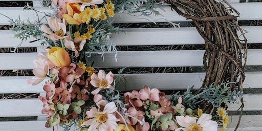 Summer Inspired Wreath Class