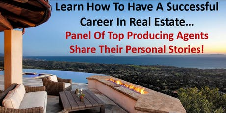 Panel Discussion-How To Have A Successful Career In Real Estate tickets