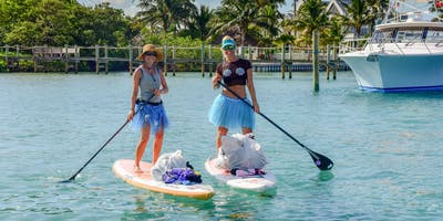 Trashy Tutu Paddle and Mangrove Cleanup