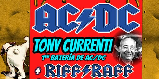 MADRID - CONCIERTO TONY CURRENTI (AC/DC) RIFF RAFF