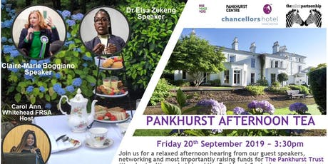 Pankhurst Afternoon Tea tickets