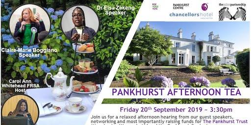Pankhurst Afternoon Tea