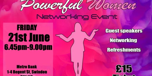 Powerful Women Networking Event
