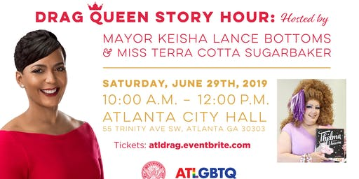 Drag Queen Story Hour w/ Mayor Keisha Lance Bottoms