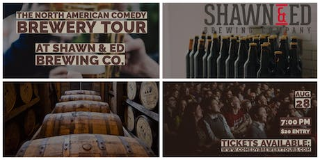 The North American Comedy Brewery Tour At Shawn & Ed Brewing Co. tickets