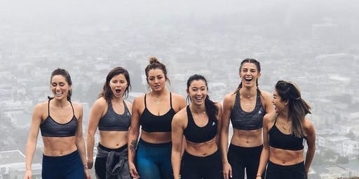 Girls who Sweat | sweaty workout and mindfulness in Hyde Park