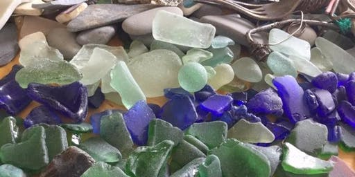 CREATE YOUR OWN PICTURE FROM SEA GLASS Workshop