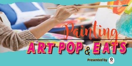 Art Pops & Eats tickets