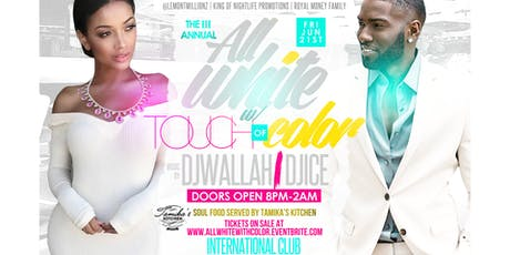 The 3rd Annual All White With A Touch Of Color tickets