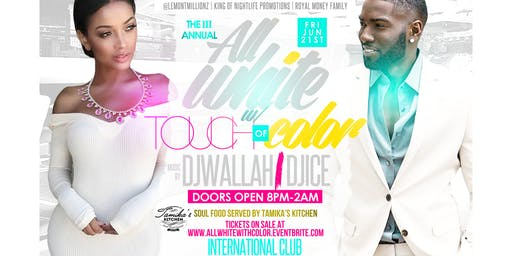 The 3rd Annual All White With A Touch Of Color