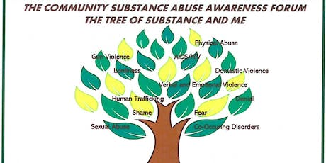 Community Substance Abuse Forum tickets