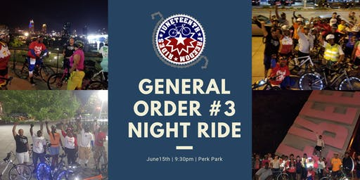 Juneteenth Freedom Rides™ General Order #3 Night Ride Cleveland