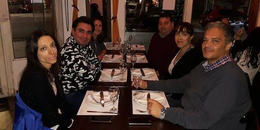 Cena de vinculación  rango 45 a 55 años en CABA-Almagro