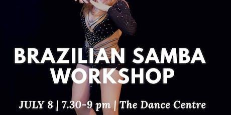Brazilian Samba Workshop tickets
