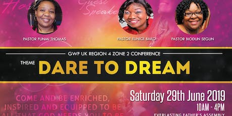 RCCG GWF REGION 4 ZONE 2 CONFERENCE  tickets
