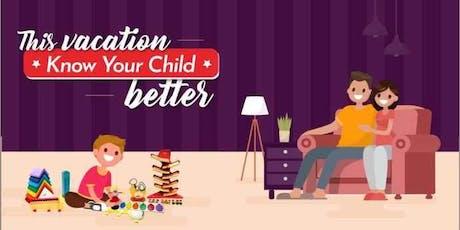 Know Your Child- Parent Workshop tickets