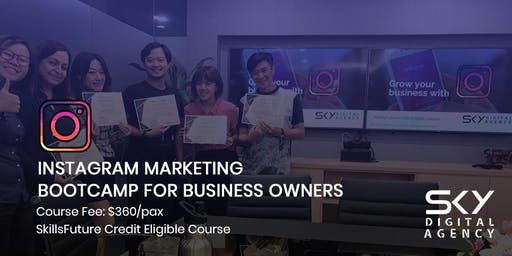 Instagram Marketing for Business Owners (SkillsFuture Credit Eligible)