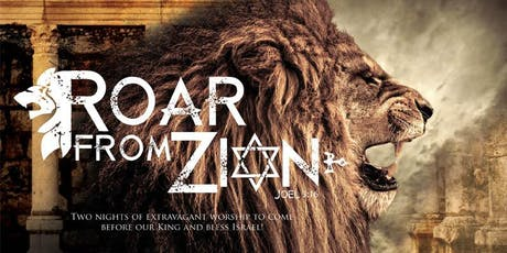 Roar from Zion with Paul Wilbur and Key of David tickets