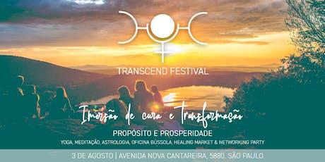 Transcend Festival - Propósito & Prosperidade ingressos