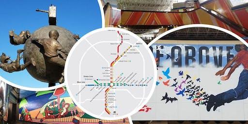 MARTA Station & Neighborhood Tour: PEACHTREE CENTER