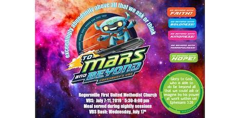 Rogersville First United Methodist Church VBS 2019 tickets
