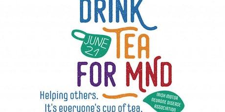 Tea for MND tickets