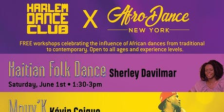 FREE Summer AfroDance workshop serie tickets