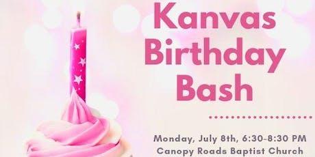 Kanvas Birthday Bash tickets