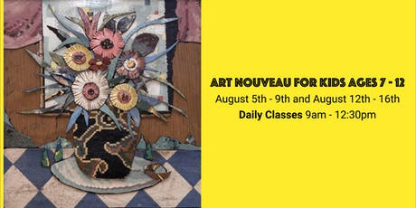 Art Nouveau for kids 7 – 12 tickets