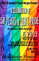 50 Years of LGBT Pride Presented by Vikki LaFontaine, Tammi Morgen, Special Guest Twinkle Montgomery