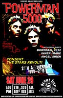 Powerman 5000 - Tonight The Stars Revolt 20th Anniversary Tour