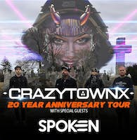 Crazy Town - 20 Year Anniversary Tour