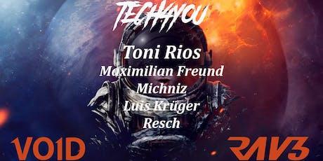 Tech4You pres. Toni Rios Tickets