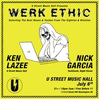 Werk Ethic: 80s and 90s House and Techno