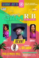 Summer Jam R&B Festival featuring Eric Benet, Michel'le, Regina Belle, hosted by comedian J.J. Williamson