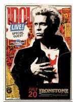 Billy Idol + Special Guest @ Ironstone Ampitheatre