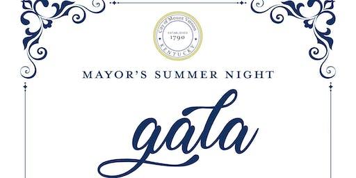 1st Annual Mayor's Summer Night Gala