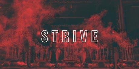 STRIVE tickets